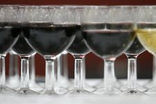 Free Wine Glasses Royalty Free Stock Image - 5405986