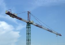 Free Tower Crane Stock Photos - 5406063
