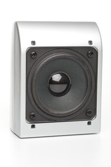Free Loudspeakers On A White Stock Photo - 5406110