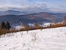 Free Winter Landscape Royalty Free Stock Photos - 5406128