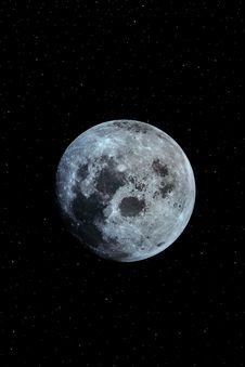Free Moon 1 Royalty Free Stock Photo - 5406425