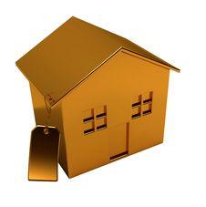 Golden House Royalty Free Stock Photos