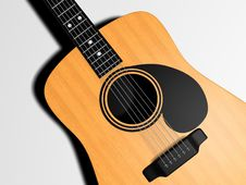 Free Classic Guitar Royalty Free Stock Images - 5406789