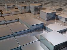 Free Metallic Cubes Stock Photo - 5406890
