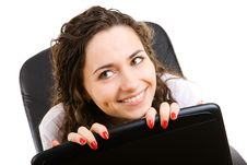 Free Businesswoman In Armchair Stock Images - 5406994