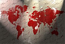 Free World Map Royalty Free Stock Photo - 5407085