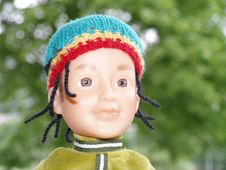 Free Rasta Doll Boy Royalty Free Stock Photography - 5407087