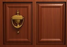 Free Door Knocker Stock Photo - 5407140