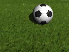 Free Soccer Ball Royalty Free Stock Image - 5407196