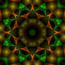Free 3d Pop Metallic Mandala Royalty Free Stock Images - 5407779