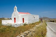 Greek Church Royalty Free Stock Image