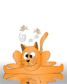 Free Cat Royalty Free Stock Image - 5408306
