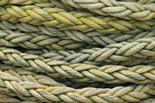 Free Coiled Rope Detail Stock Photography - 5408712