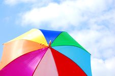 Free Colourful Umbrella Royalty Free Stock Images - 5409049