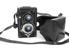 Free Old Photo Camera Royalty Free Stock Images - 5409119