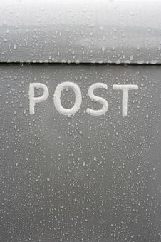 Free Post Box Royalty Free Stock Photo - 5409665