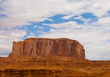Free Monument Valley Royalty Free Stock Image - 5409766