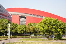 Free Nanjing Olympic Sports Center Stock Photo - 54007170