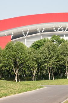 Free Nanjing Olympic Sports Center Stock Photos - 54007173