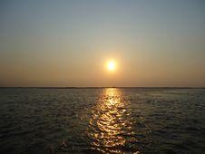 Free Sunset. Royalty Free Stock Photos - 54075118