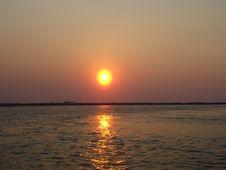 Free Sunset. Royalty Free Stock Photography - 54075487