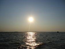 Free Sunset. Royalty Free Stock Photography - 54076727