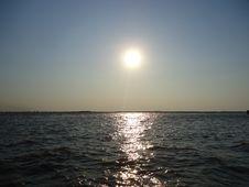Free Sunset. Royalty Free Stock Photography - 54093787