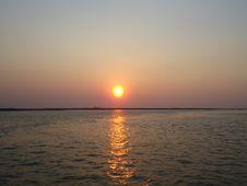 Free Sunset. Royalty Free Stock Image - 54094256