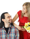 Free Smiling Couple Royalty Free Stock Photography - 5418247