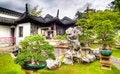 Free Bonsai Garden Courtyard Stock Photos - 5419593