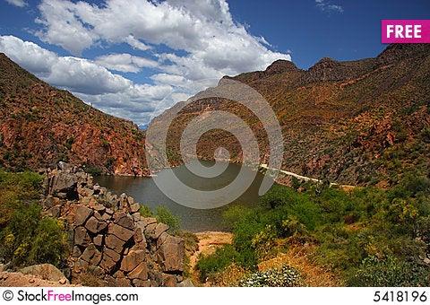 Free Desert Spring Royalty Free Stock Image - 5418196