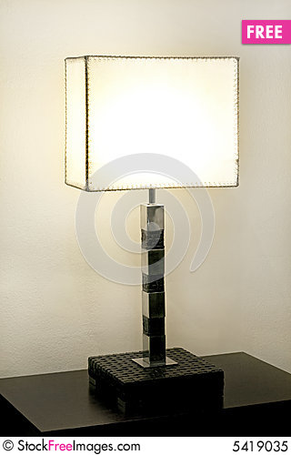 Free Simple Lamp Royalty Free Stock Photo - 5419035