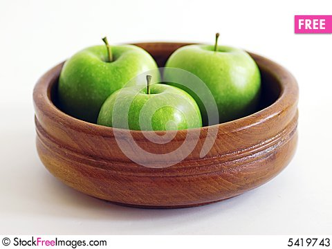 Free Three Apples Stock Photos - 5419743