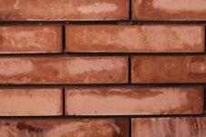 Free Red Bricks. Stock Image - 5410131