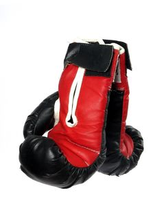 Free Boxing Gloves Red And Black Stock Photo - 5410290