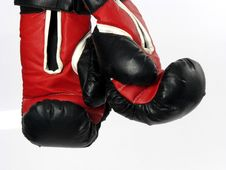 Free Boxing Gloves Side View Stock Photo - 5410320
