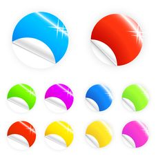 Free Glossy And Shiny Retail Buttons Stock Photo - 5410400