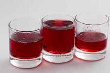 Free Cold Red Drink Stock Image - 5410661
