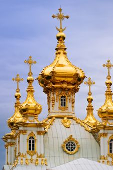 Free Orthodox Church. Royalty Free Stock Photography - 5410777