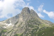 Mountain In Slovakia Stock Photo