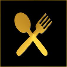 Free Fork And Spoon Royalty Free Stock Photography - 5411507