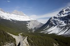 Free Canadian Rocky Mountains Stock Photography - 5411622