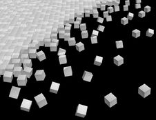 Free Cubes Decay Stock Photo - 5411950