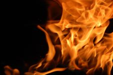 Free Winding Fire To Right Stock Images - 5412064