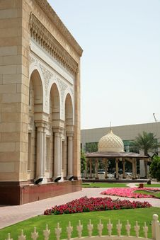 Free Garden Of Mosque Royalty Free Stock Images - 5412339