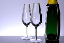 Free Champagne Royalty Free Stock Photos - 5412638