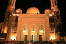 Free Nocturne Of Mosque Stock Photos - 5412713