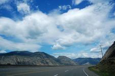 Free Highway And Sky Royalty Free Stock Image - 5412896