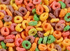 Free Colourful Cereal Stock Image - 5412981
