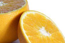 Free Orange On White Royalty Free Stock Photo - 5413175